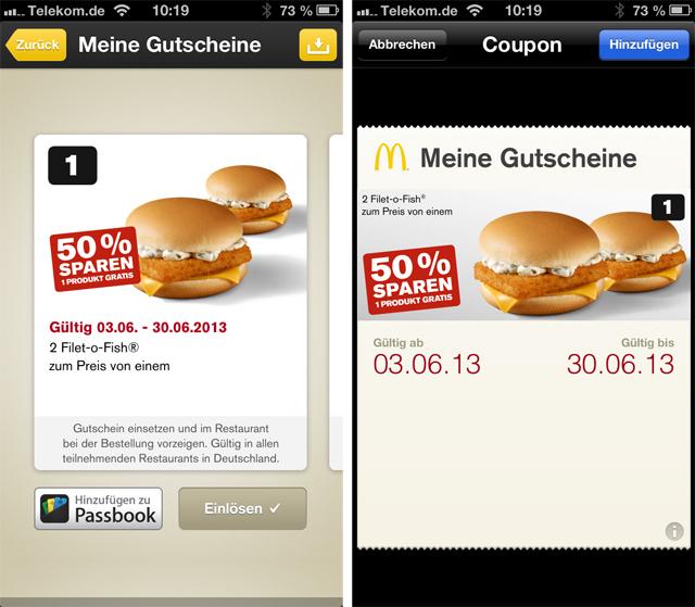 Mcdonalds Rabatt App