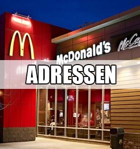 Adressen von McDonalds Filialen