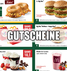 Mcdonalds Gutscheine September